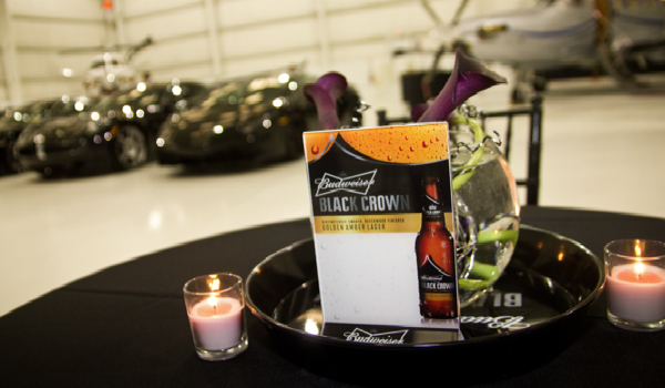 Premier Parties – Budweiser Black Crown