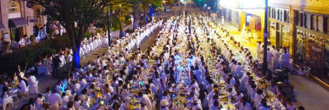 Dîner En Blanc Returns to Atlanta