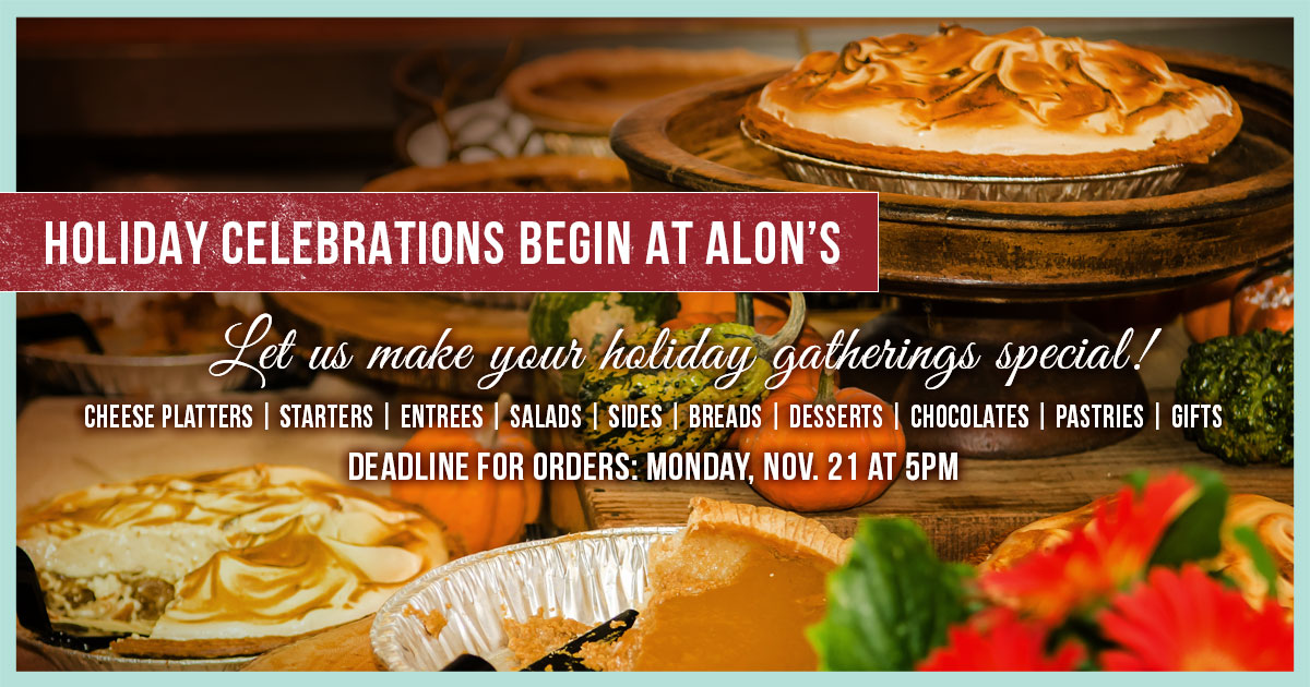 Celebrate Thanksgiving with a Feast from Alon's Bakery & Market