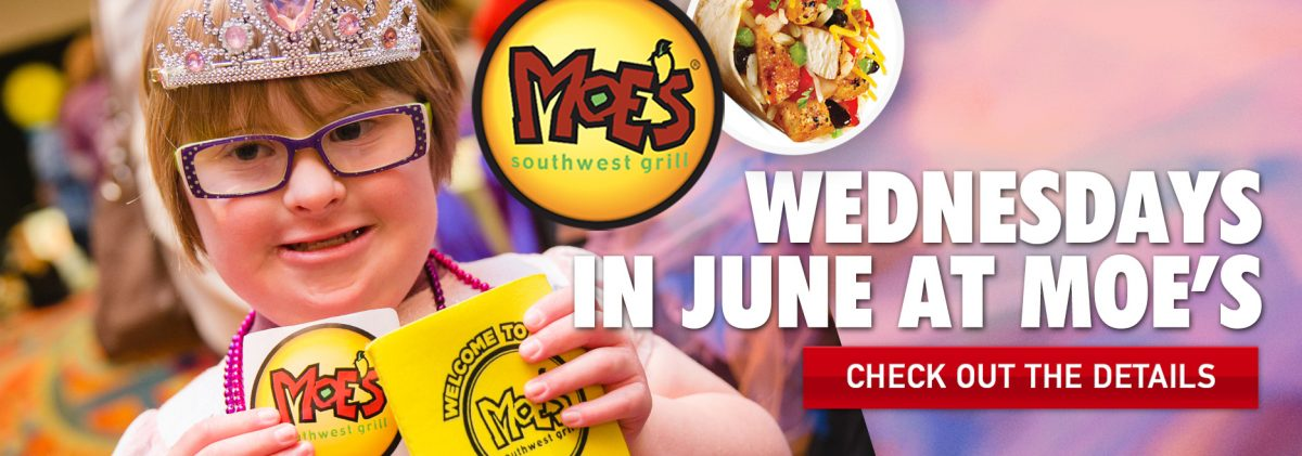 DINE OUT AT ATLANTA MOE'S SOUTHWEST GRILL LOCATIONS IN JUNE TO BENEFIT BERT'S BIG ADVENTURE