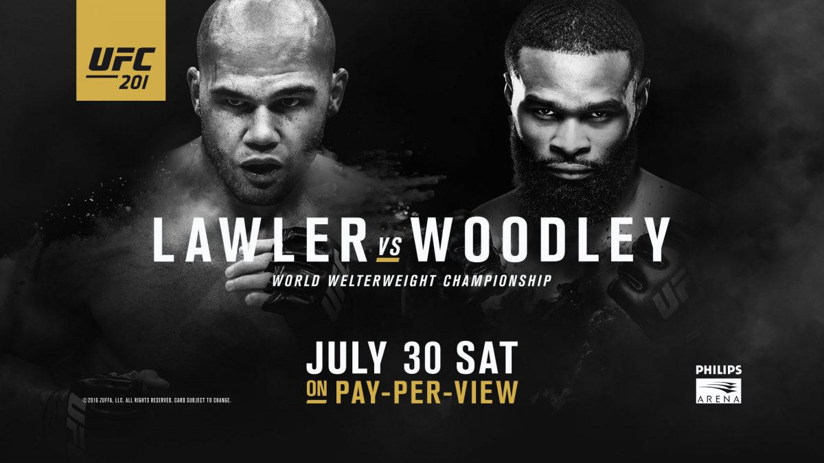 TWO WORLD TITLE FIGHTS HEADLINE THE UFC'S RETURN TO ATLANTA
