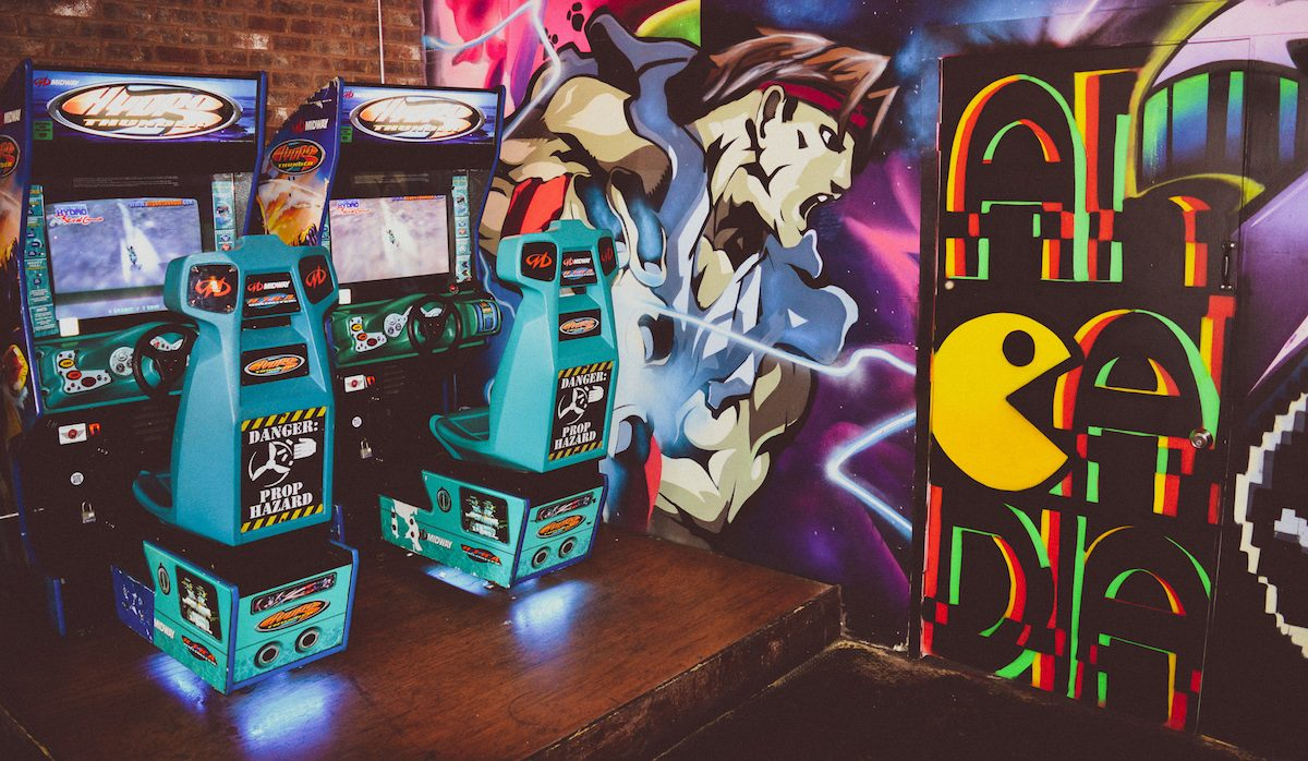 Red Door Tavern Debuts Brand New Retro Game Room, Arcadia