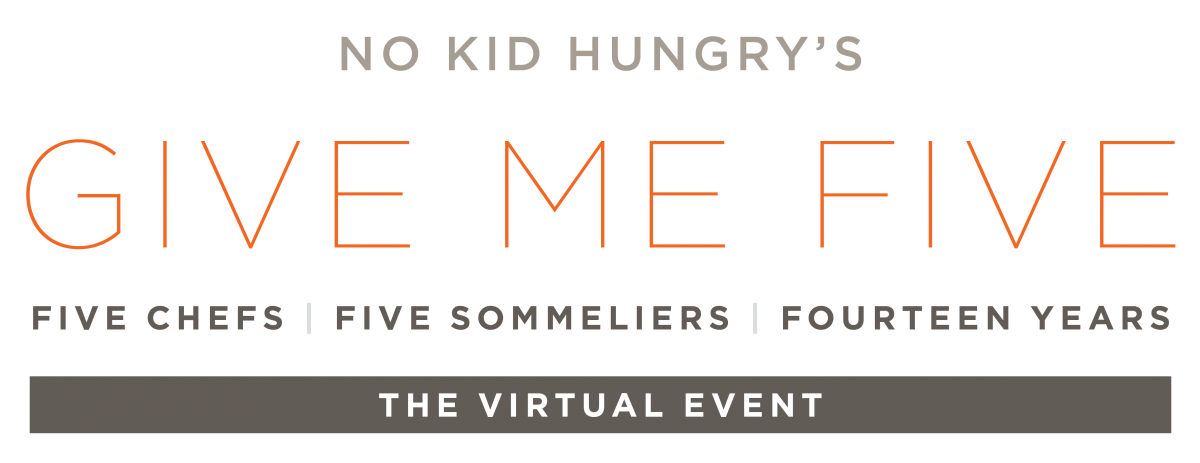 No Kid Hungry's Give Me Five Goes Virtual